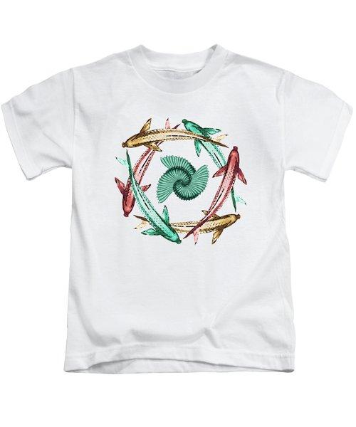 Circle Kids T-Shirt by Deborah Smith