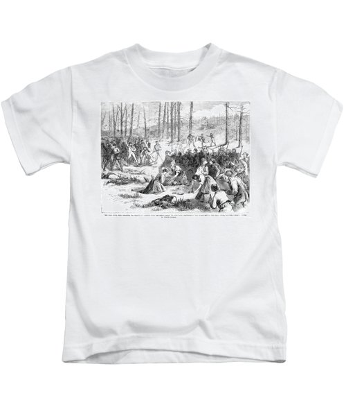 Coal Miner Strike, 1871 Kids T-Shirt by Granger