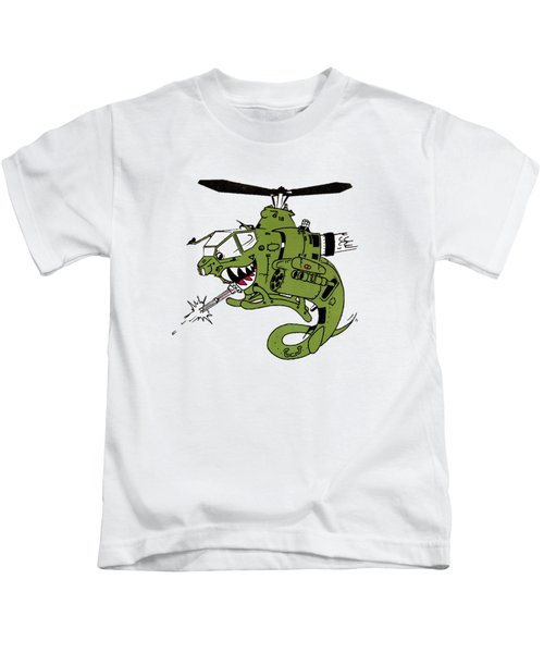 Cobra Kids T-Shirt by Julio Lopez