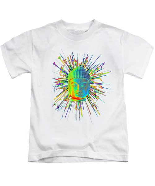 colorful Korean sparkle Kids T-Shirt by Terrell Kaucher