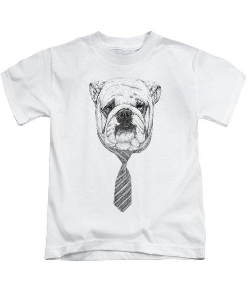 Cooldog Kids T-Shirt by Balazs Solti