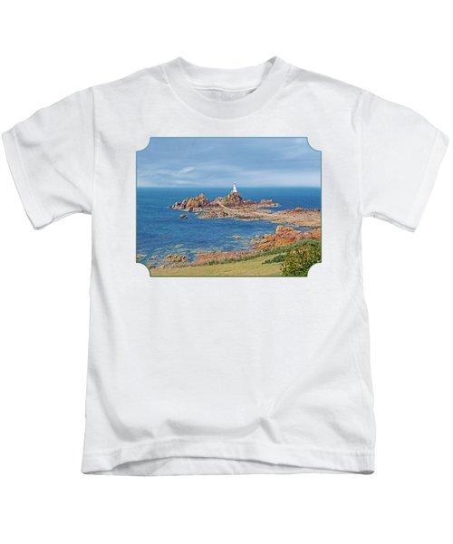 Corbiere Lighthouse Jersey Kids T-Shirt by Gill Billington