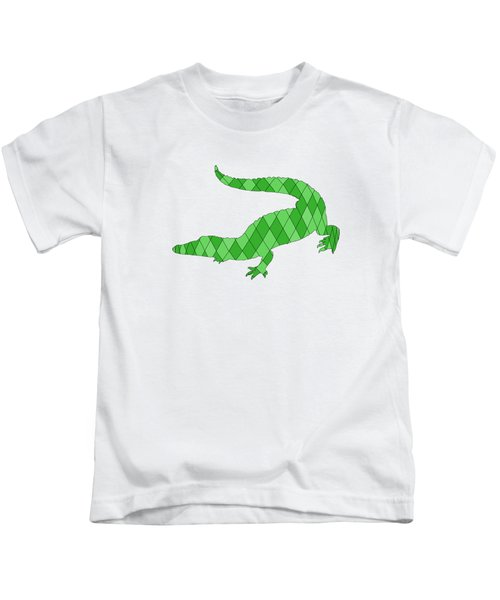 Crocodile Kids T-Shirt by Mordax Furittus