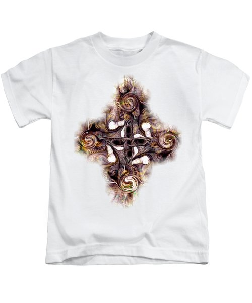 Desert Cross Kids T-Shirt by Anastasiya Malakhova