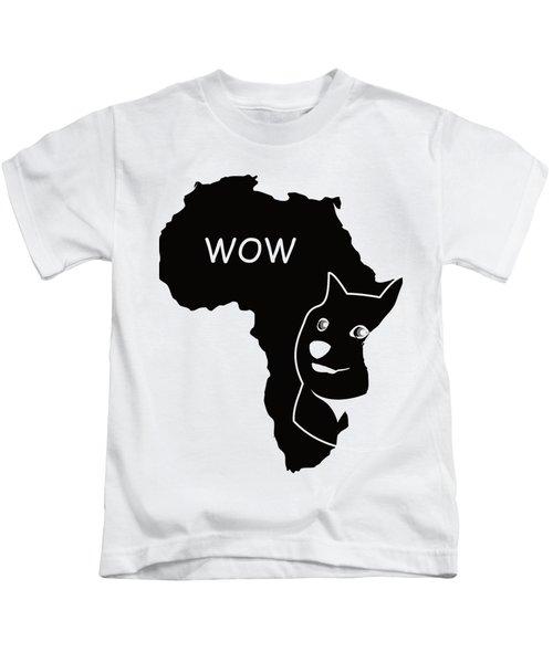 Dogecoin In Africa Kids T-Shirt by Michael Jordan