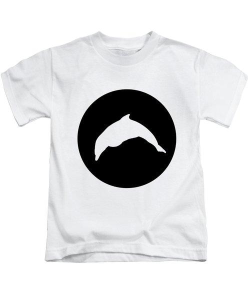 Dolphin Kids T-Shirt by Mordax Furittus