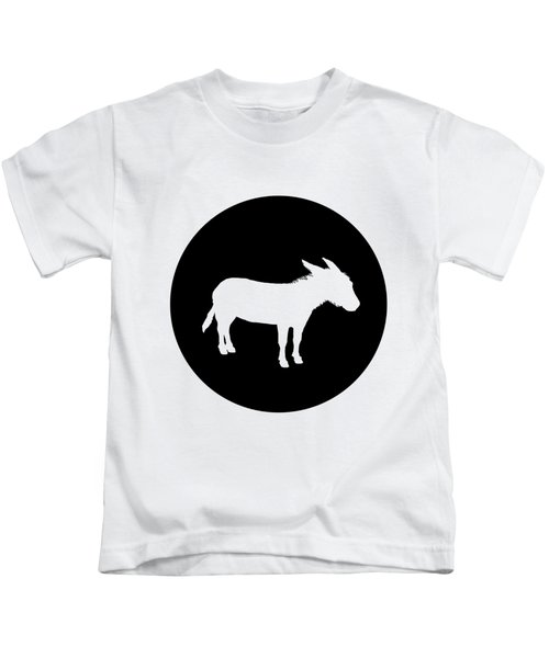 Donkey Kids T-Shirt by Mordax Furittus