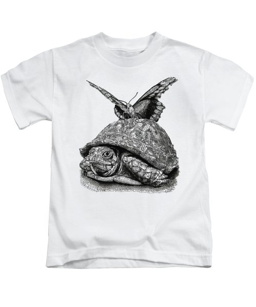 Dreams Of Flying Kids T-Shirt by Michael Volpicelli