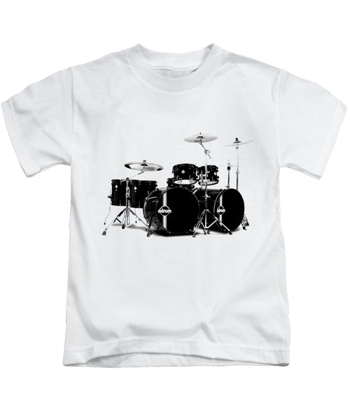 Drum Kids T-Shirt by David Balber