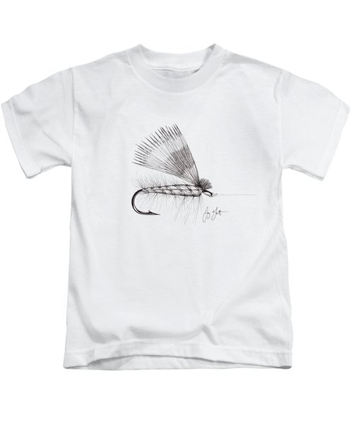 Dry Fly Kids T-Shirt by Jay Talbot