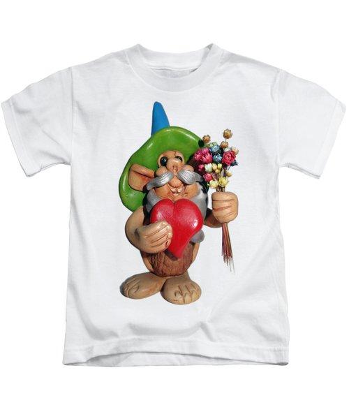 Elf Kids T-Shirt by Ariel Pedraza