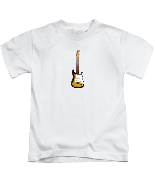 Fender Stratocaster 65 Kids T-Shirt by Mark Rogan