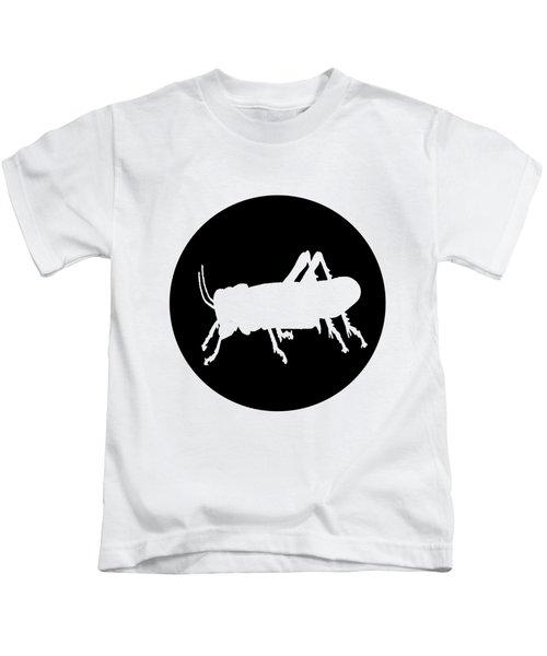Grasshopper Kids T-Shirt by Mordax Furittus