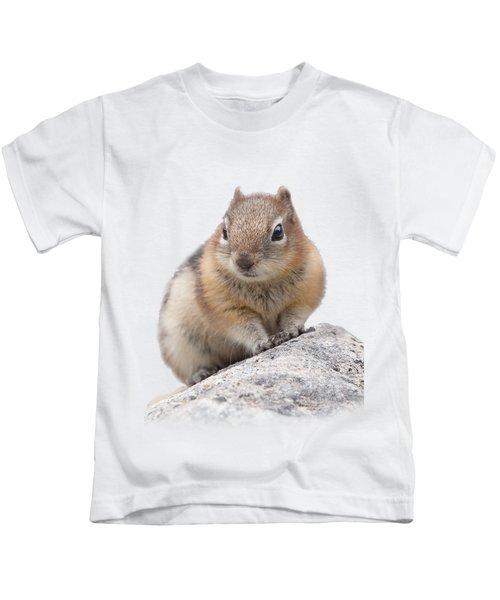 Ground Squirrel T-shirt Kids T-Shirt by Tony Mills