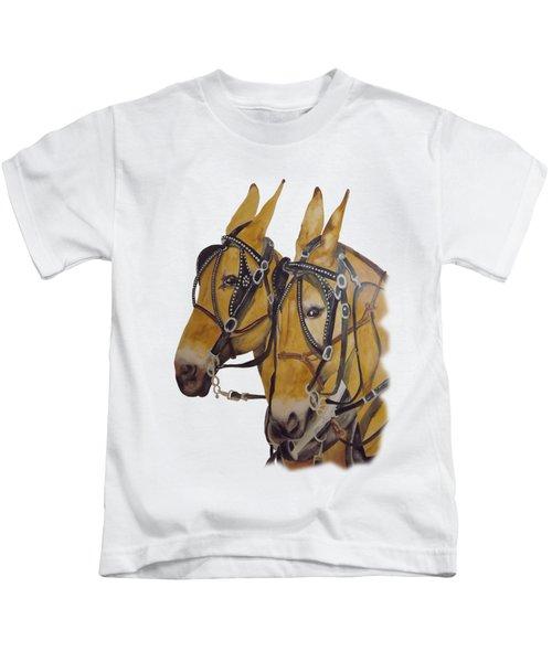 Hitched #2 Kids T-Shirt by Gary Thomas