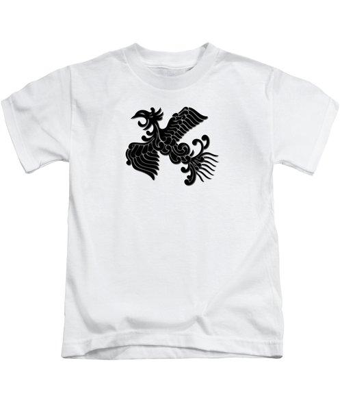 Phoenix Tee Shirt 3 Kids T-Shirt by Nathan Beardsley