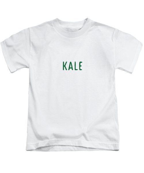 Kale Kids T-Shirt by Cortney Herron