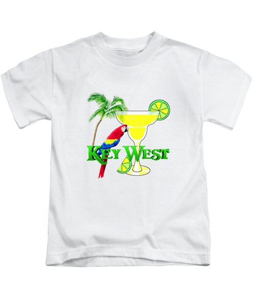 Key West Margarita Kids T-Shirt by Chris MacDonald