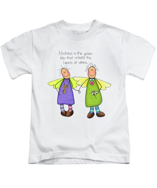 Kindness Kids T-Shirt by Sarah Batalka