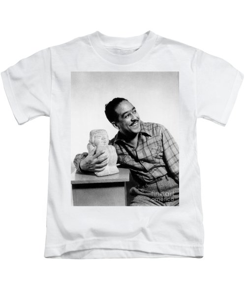 Langston Hughes (1902-1967) Kids T-Shirt by Granger