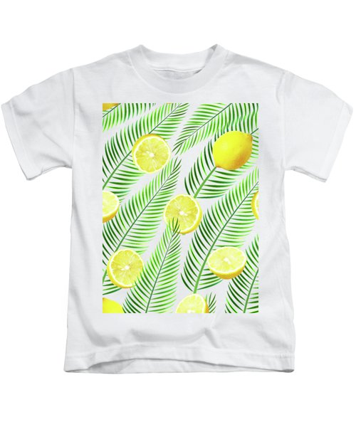 Lemons Kids T-Shirt by Uma Gokhale