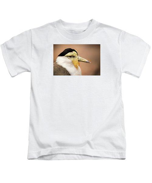 Masked Lapwing Kids T-Shirt by Don Johnson