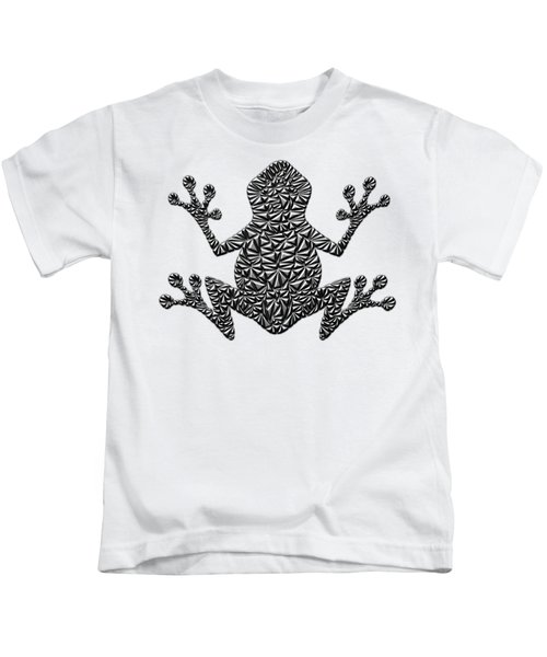 Metallic Frog Kids T-Shirt by Chris Butler