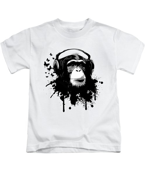 Monkey Business Kids T-Shirt by Nicklas Gustafsson