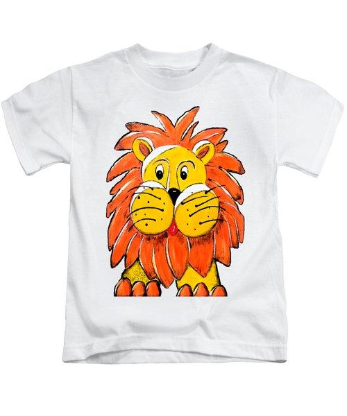 Mr. Lion Kids T-Shirt by Tami Dalton
