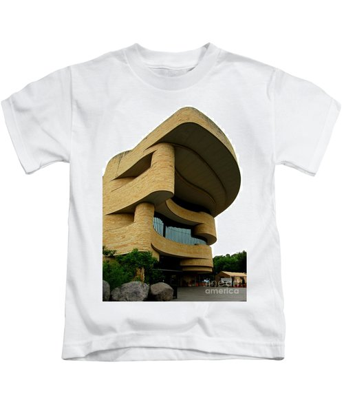National Museum Of The American Indian 1 Kids T-Shirt by Randall Weidner
