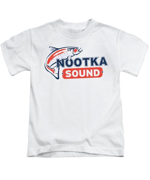 Ns Logo #2 Kids T-Shirt by Nootka Sound