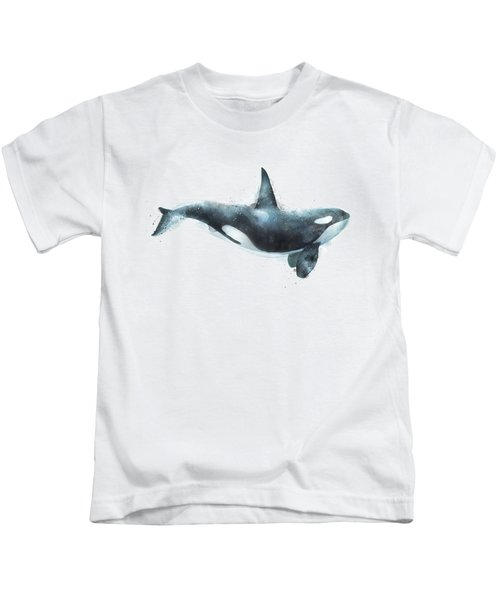 Orca Kids T-Shirt by Amy Hamilton