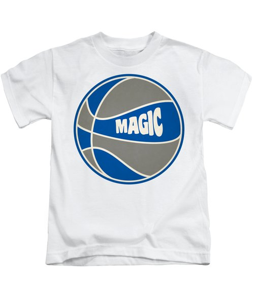 Orlando Magic Retro Shirt Kids T-Shirt by Joe Hamilton