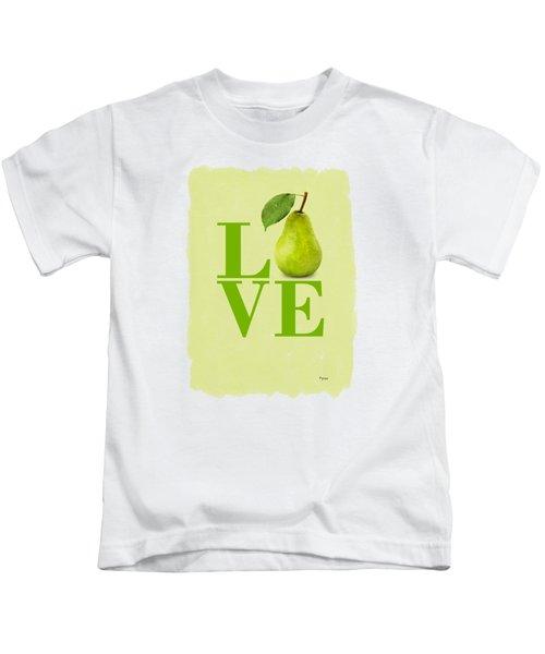 Pear Kids T-Shirt by Mark Rogan
