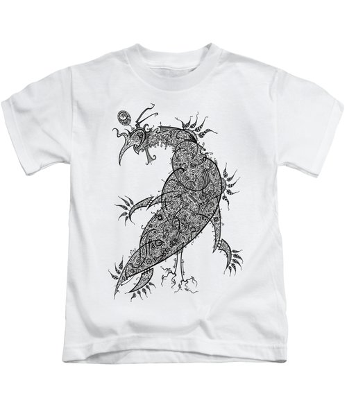 Pheasant Kids T-Shirt by Raf Podowski
