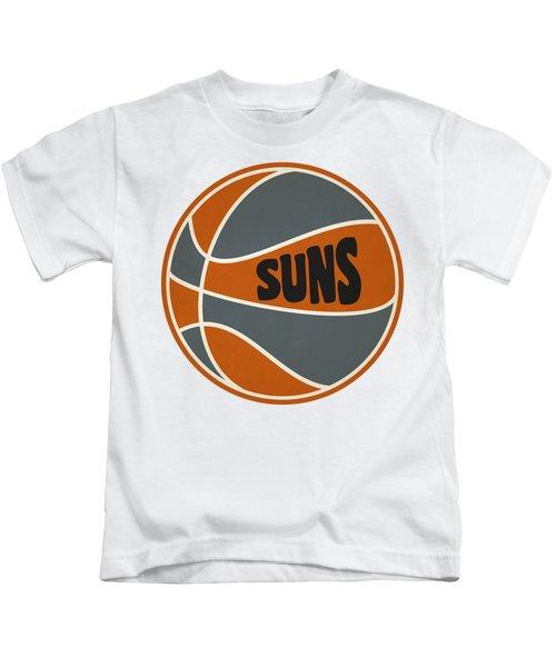 Phoenix Suns Retro Shirt Kids T-Shirt by Joe Hamilton