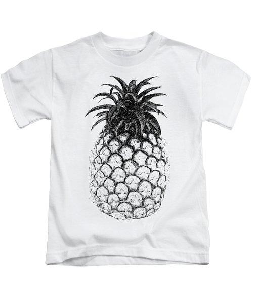 Pineapple Kids T-Shirt by Birgitta