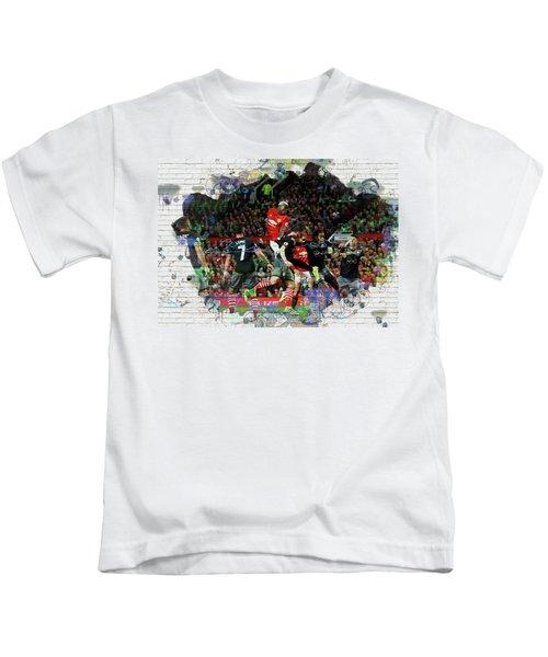 Pogba Street Art Kids T-Shirt by Don Kuing