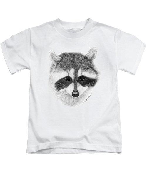 Raccoon Kids T-Shirt by Rita Palmer