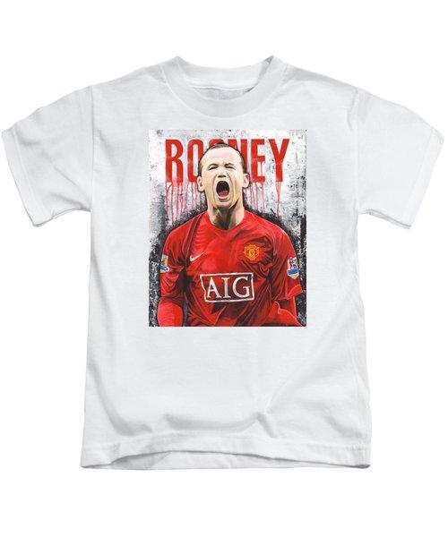 Rooney Kids T-Shirt by Jeff Gomez
