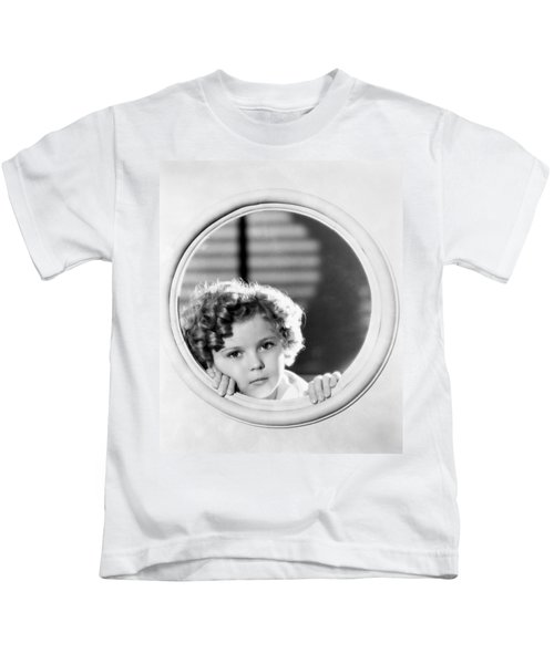 Shirley Temple (1928-2014) Kids T-Shirt by Granger