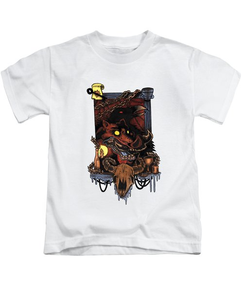 Shmignola Kids T-Shirt by Vicki Von Doom