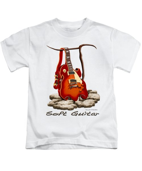 Soft Guitar - 3 Kids T-Shirt by Mike McGlothlen