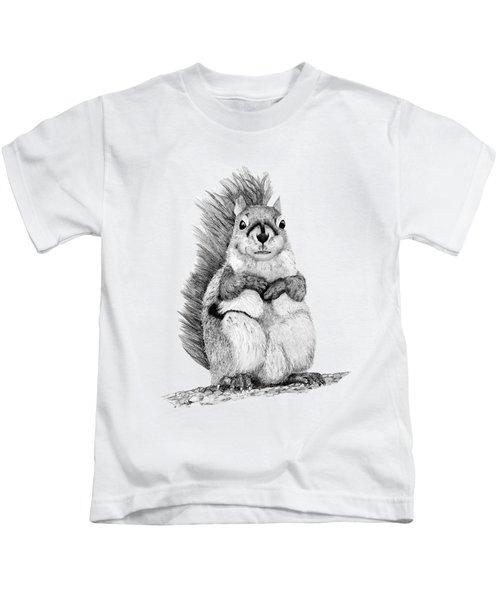 Squirrel Kids T-Shirt by John Stuart Webbstock