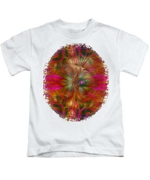 Strawberry Fields Abstract Kids T-Shirt by Sharon and Renee Lozen