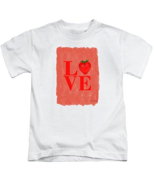 Strawberry Kids T-Shirt by Mark Rogan