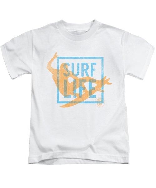 Surf Life 1 Kids T-Shirt by SoCal Brand