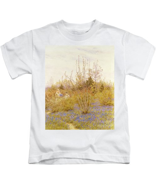The Cuckoo Kids T-Shirt by Helen Allingham