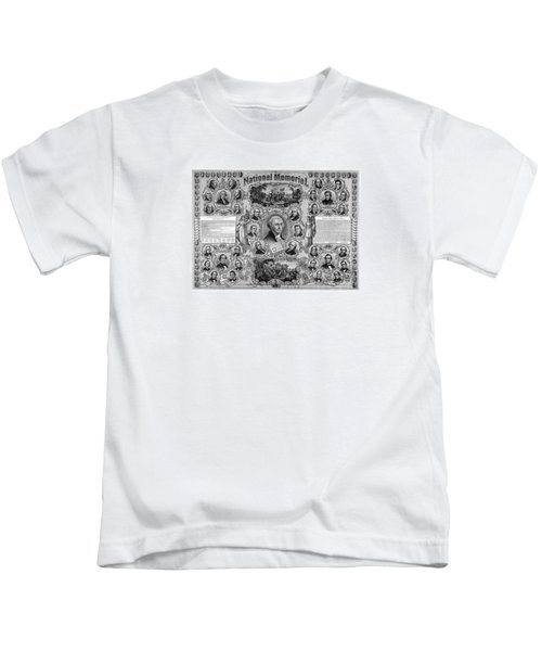 The Great National Memorial Kids T-Shirt by War Is Hell Store