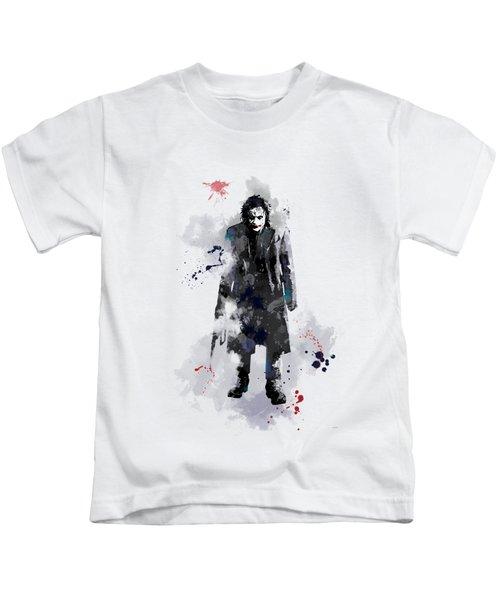 The Joker Kids T-Shirt by Marlene Watson
